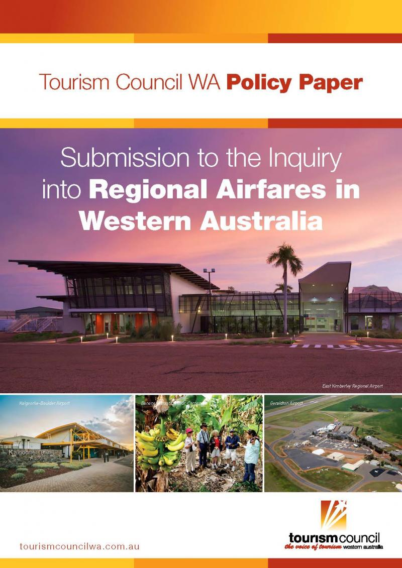 Submission to the Inquiry into Regional Airfares in WA