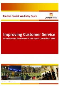 Improving Customer Service – Submission to the Liquor Control Act