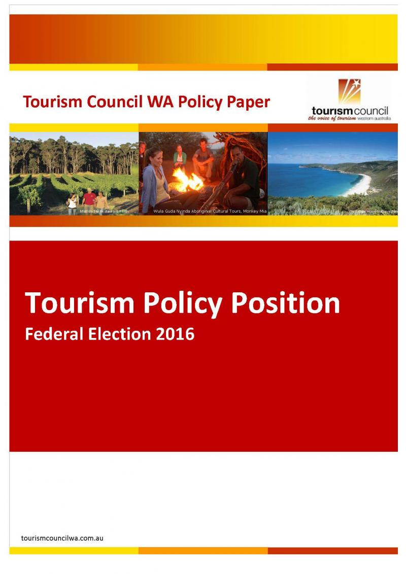 Federal Election Policy Position