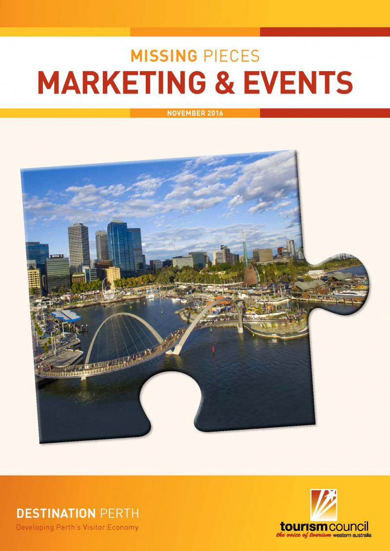 Missing Pieces: Marketing & Events