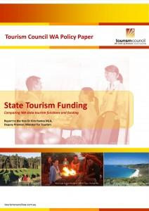 State Tourism Funding – Comparing WA state tourism functions and funding